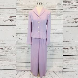 Lauren Ralph Lauren silk two piece women's suit